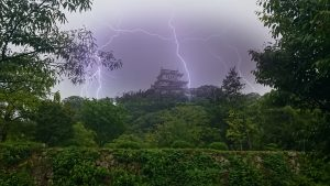 荒ぶる姫路城