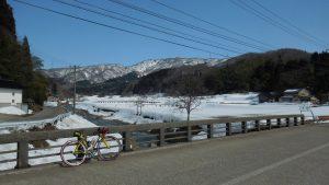 湯涌温泉付近の橋