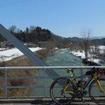 内川スポーツセンター手前の橋