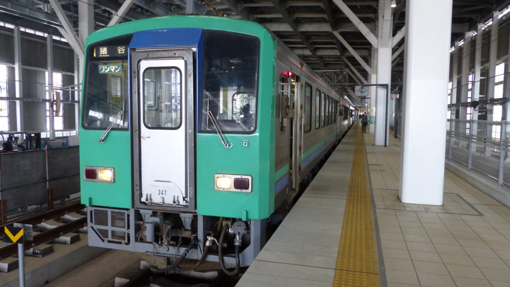 富山駅ー猪谷行き