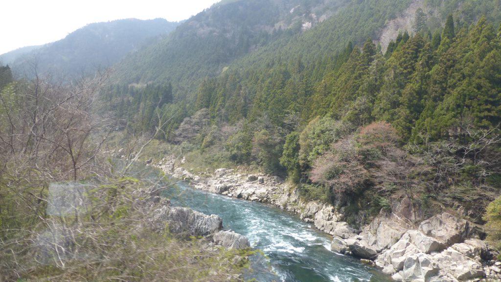 下呂温泉からの景色1