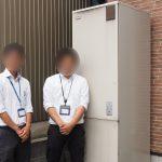 リフォーム屋さんと電気温水器